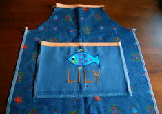 ikat bag: How To Sew An Elasticized Apron (for Kids)
