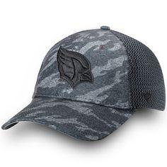 Arizona Cardinals NFL Pro Line by Fanatics Branded Made to Move Trucker Adjustable  Hat – Camo Black 967323c38dfb
