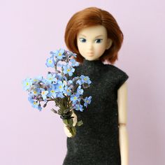 A bunch of flowers for all whose birthday is in May! Check out the new post on minimagine.com.  #flowers #momokodoll #forgetmenot #happybirthday #bunchofflowers
