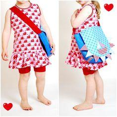 lillesol & pelle Schnittmuster/ pattern: Sommerkombi Kleid