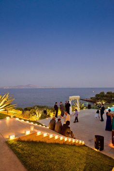 Greece, little more is needed to decorate a wedding in Greece other than Greece itself <3 SO dreamy