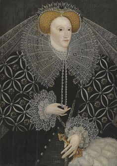 Anglophilia & Elegance    Elizabeth I, Queen of England by lisby1 on Flickr.