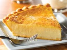 "Old Fashioned Custard Pie Recipe. ""This is the 1999 American Pie Council's National Pie Championship's first place winner in the Custard Pie Category. Custard Pies, Custard Slice, Custard Pudding, Pie Recipes, Dessert Recipes, Cooking Recipes, Healthy Recipes, Skinny Recipes, Copycat Recipes"