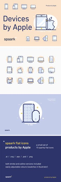 15 Apple Devices Icons - download freebie by PixelBuddha