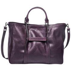 Handbag - Longchamp 3D - Handbags - Longchamp - Bilberry - Longchamp United-States