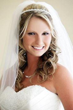 Beautiful, simple Bride Hair and Makeup  Fairytale Hair and Makeup