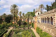 Königspalast Alcázar in Sevilla | andalusien 360°