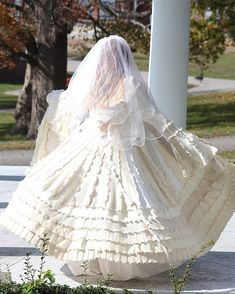 Wow recycled sweater wedding dress - makes me want to get married again.