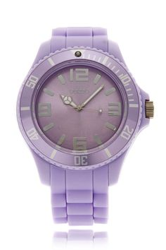 PASTEL LILA Silicone Watch