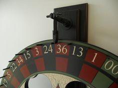 24 Roulette / Carnival Wheel w/ Wall Mount 24 by JohnnyUNamath