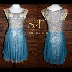 Free People Dresses - FREE PEOPLE Dress Falling Leaves Swing Flared Mini - Available #forsale in my #poshmark closet - Size XS - #wiw #love #shopping #SouthernGirlFashion