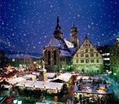 Stuttgart - Germany. Christmas markets!