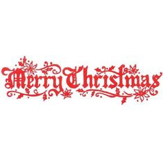 9036 - Old World Merry Christmas Rubber Stamp - Sku: E739