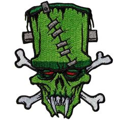Toxic Toons Frankie Crossbones Patch