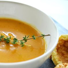 Butternut Squash Soup Recipe- healthy, fast & easy