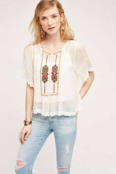 Keira Lace Blouse