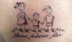 tatuagens de filhos