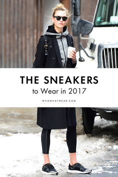 Everyone's favorite outfit just got a cool update. Here's how to wear leggings with sneakers in 2017.