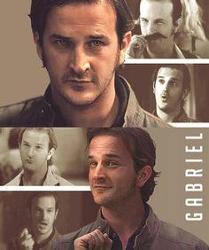 Gabriel<3 literally screamed when they revealed he was gabriel