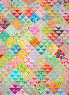 HST OverLoad Quilt Pattern PDF File  Immediate por redpepperquilts, $8.50