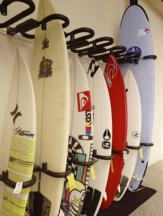 Surfboard lockers at Shorebreak Hotel, a Joie de Vivre Hotel, Huntington Beach
