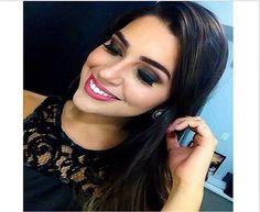 Maquiagem da Miss Amazonas, Vivian Lima, feita pela @rayssajardimakeup do Beauty Team da NYX Manauara. Na pele, foram usados os produtos da linha HD. Nos olhos, a paleta Natural. Para completar, Matte Lipstick Angel