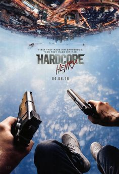 #HardcoreHenry Poster! In Theatres April 8th! Get the #poster here!