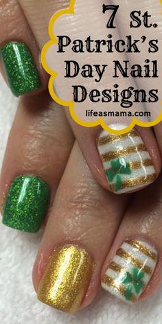 7 St. Patrick's Day Nail Designs