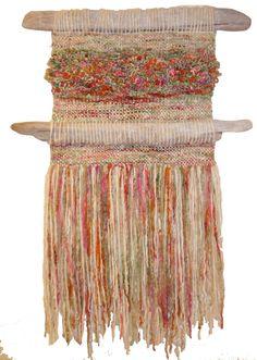 Arte Textil Marianne Werkmeister Weaving Textiles, Weaving Art, Weaving Patterns, Loom Weaving, Hand Weaving, Weaving Designs, Burlap Wall Hangings, Woven Wall Hanging, Circular Weaving