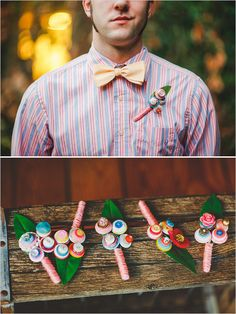 button boutonniere by RBK Creations