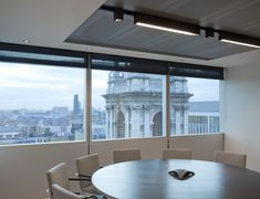 office light fixtures. KREON L Orrick, London UK Office #Kreon #office #lighting #interiordesign # Light Fixtures E