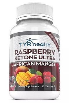 TYR Health Raspberry Ketone Ultra w/ African Mango - Natural Weight Loss