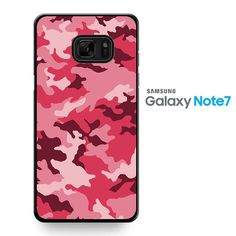 Pink Camouflage TATUM-8649 Samsung Phonecase Cover For Samsung Galaxy Note 7