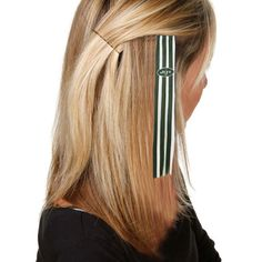 New York Jets Women's Green/White Sports Extension Hair Clips - $3.99