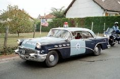 '56 buick ma state police cruiser