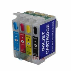 92N T0921 Empty Refill Ink cartridge For EPSON Stylus T27 C91 CX4300 T26 TX106 TX109 TX117 TX119 printers with ARC CHIP