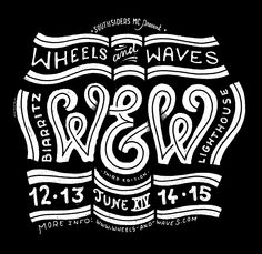 Wheels & Waves revient à Biarritz du 12 au 15 Juin 2014
