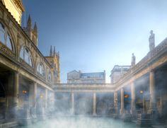 Roman Baths Photo by Colin Hawkins