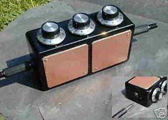 3 Dial Radionics Machine or Black Box with Large Plates Radun308