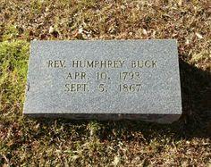 Rev Humphrey Buck