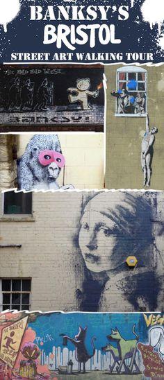 Banksy's Bristol - a street art walking tour of Banksy's home town Visit Bristol, Bristol Street, Art Festival, Banksy, Carpe Diem, Walking Tour, Summer Vibes, Street Art, Things To Do