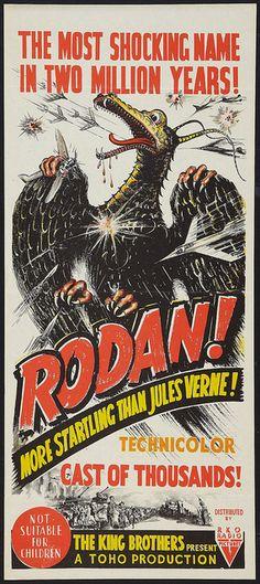 Rodan! The Flying Monster (RKO, 1957). Australian by Aeron Alfrey, via Flickr