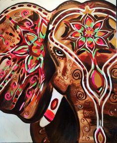 Elephant art, indian elephant, artisoof groningen... www.artisoof.nl