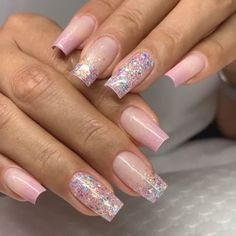 Search for nails at SHEIN. Shop from over styles. Cute Nails For Fall, Cute Pink Nails, Pink Ombre Nails, Blue Nails, Pretty Nails, Fancy Nails, Elegant Nails, Classy Nails, Stylish Nails
