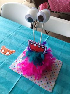 Ellie's 1st Birthday Monster Bash | CatchMyParty.com