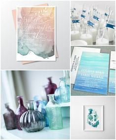 Maritim heiraten in Mint und Blau mit 19 Dekoideen | Hochzeitsblog - The Little Wedding Corner
