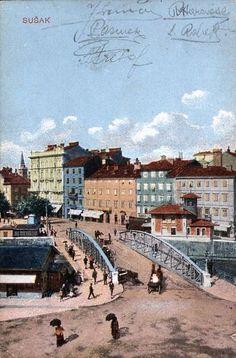 Rijeka - Sušak - 1917. - most