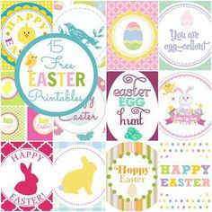 15 Best Free Easter printables from Spoonful.com