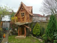 Bespoke Wooden Playhouses - Enchanted Creations Playhouses & Treehouses