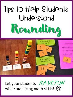 Use visuals and hands on activities to help your students understand rounding to the tens and hundreds. Small group, whole class, home school, guided math and distance learning.